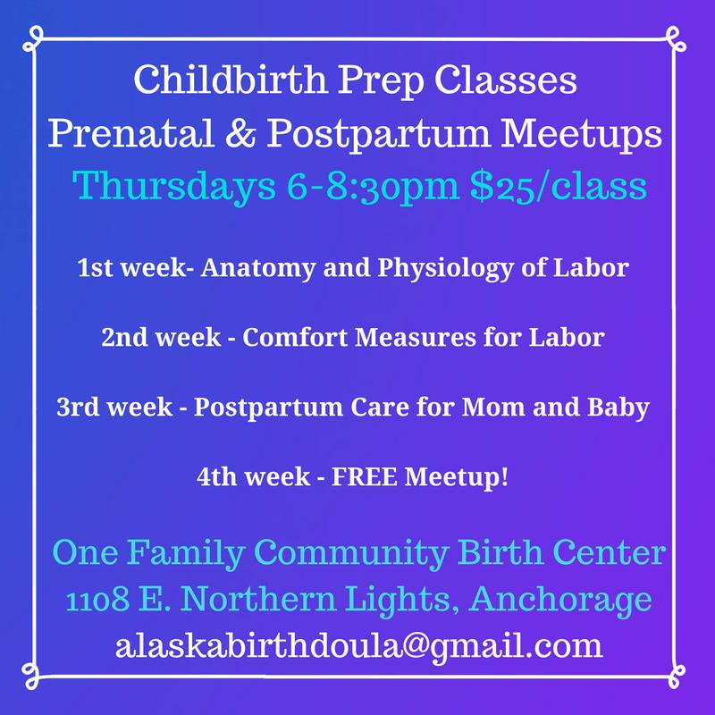Childbirth Class Anchorage Alaska Shanna Switzer Doula