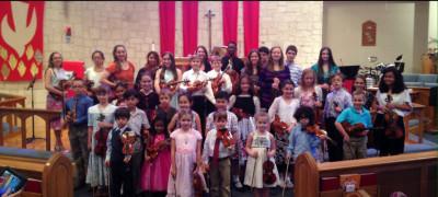 San Antonio Violin Teacher, Briana Page