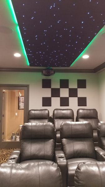 Sound Panels with LED