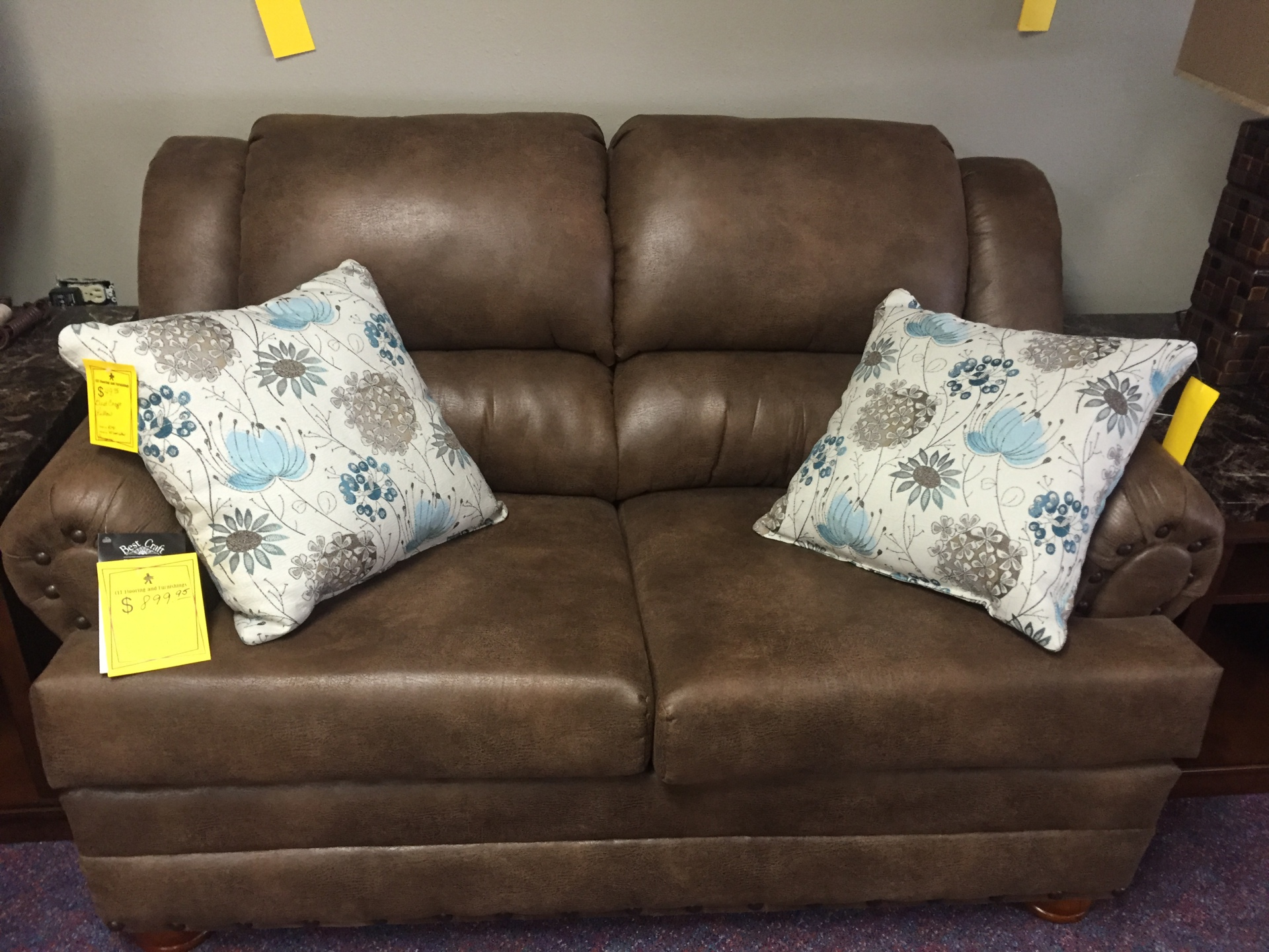 Best Craft Loveseat was $899.95 NOW $749.95