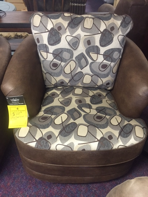 Best Craft Swivel Barrel Chair WAS $729.95 NOW $437.95
