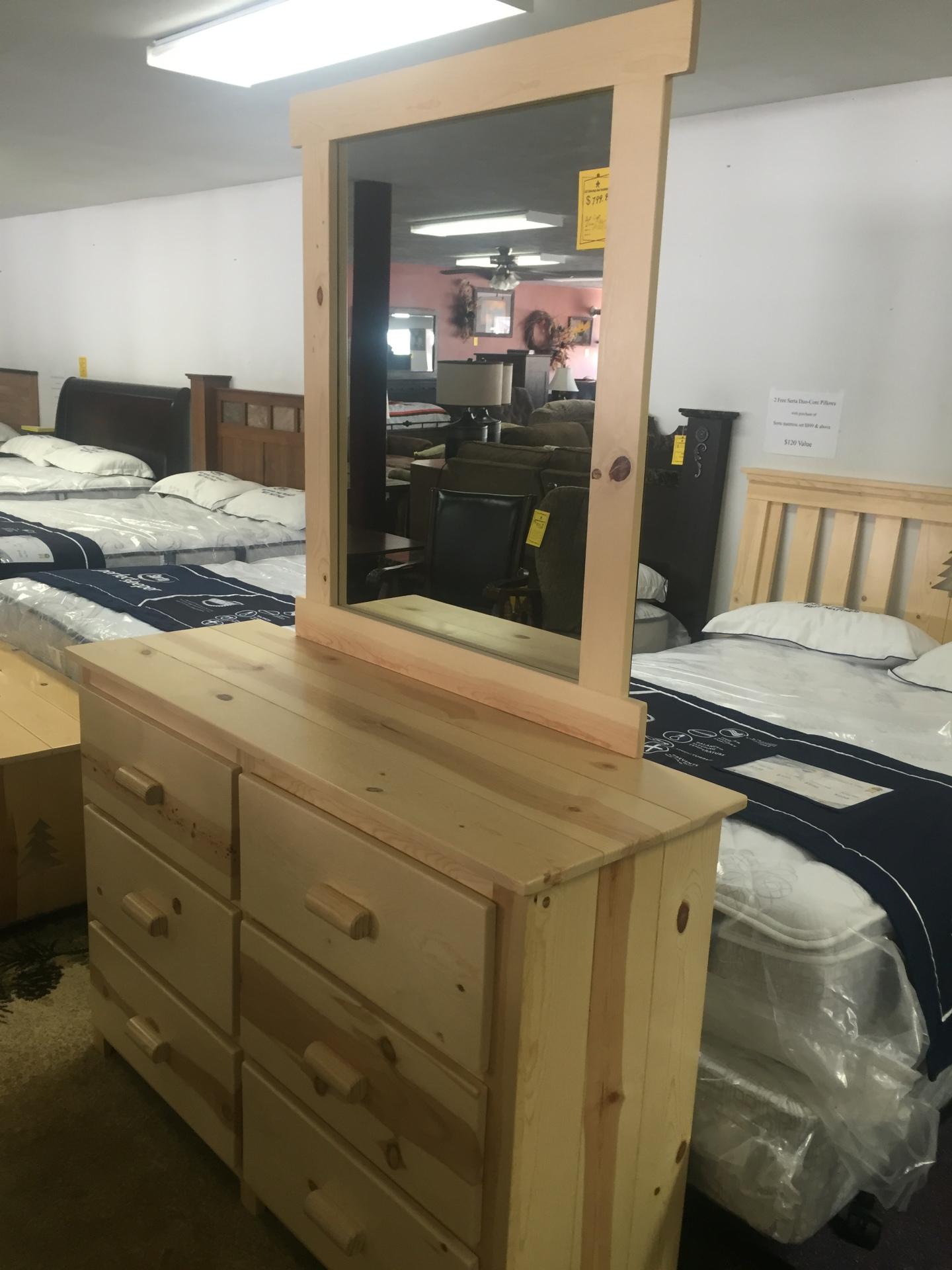 Pine Dresser-WAS $599.95 NOW $479.95