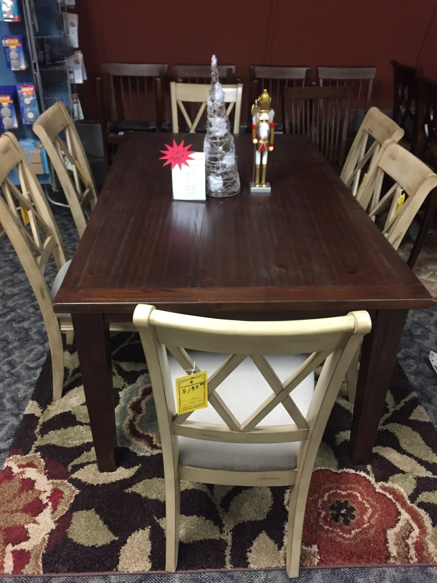 Ashley Table and 6 Chairs- WAS $1299.95 NOW $1099.95