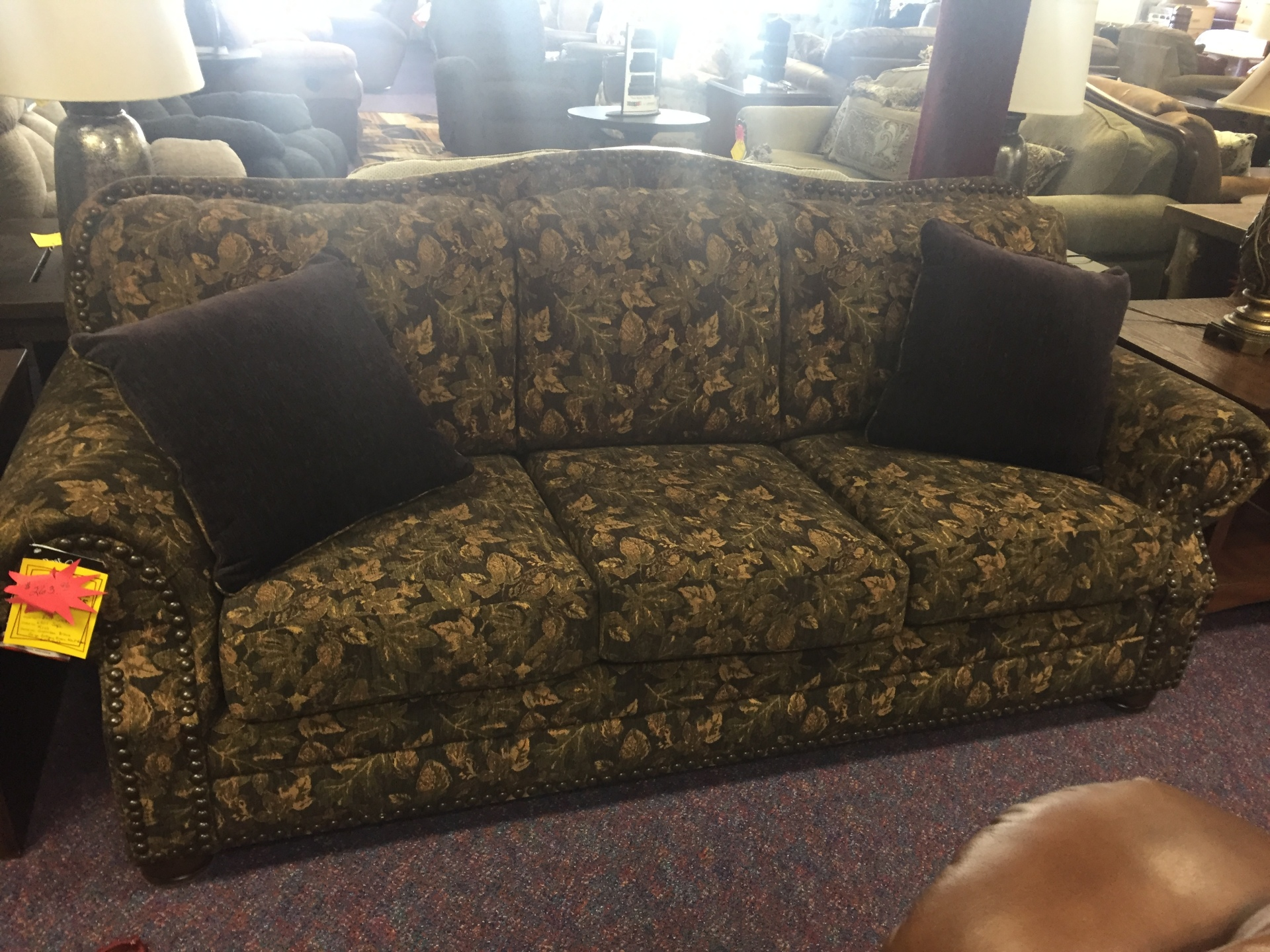 Best Craft Sofa (Gunnison Brown) was $1299.95 NOW $649.95