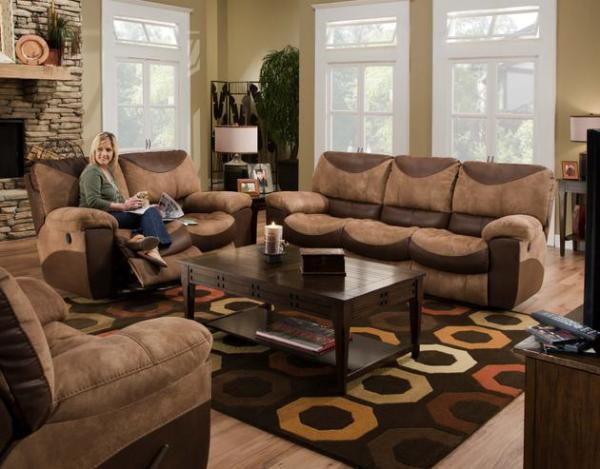 Jackson Catnapper Portman Reclining Sofa and Love Seat