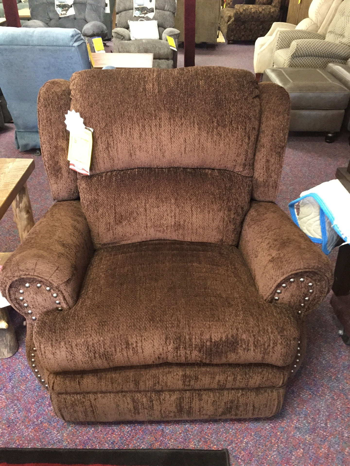 Best Craft Rocker Recliner- Columbia Chocolate