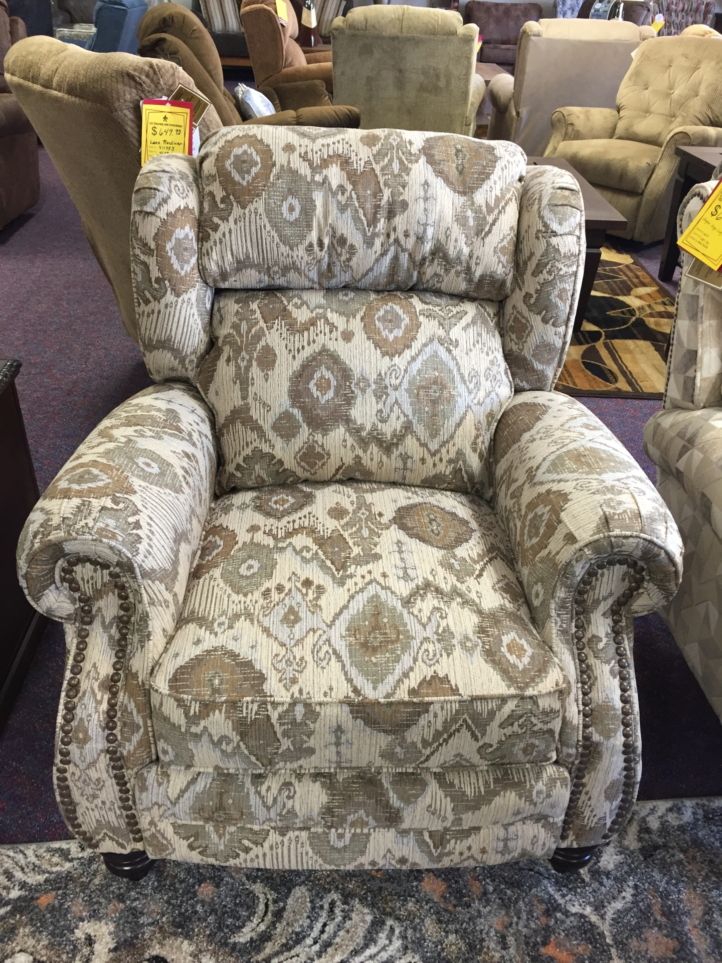Lane Norwich High-Leg Recliner- $799.95