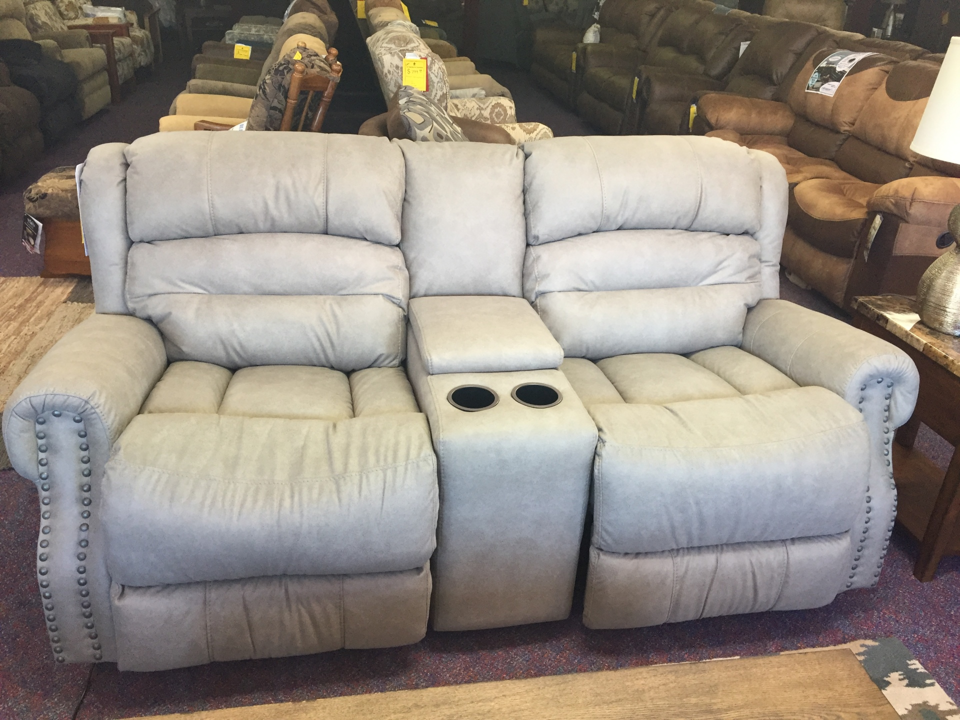Lane Power Double Rocking/Reclining Love Seat- $1799.95