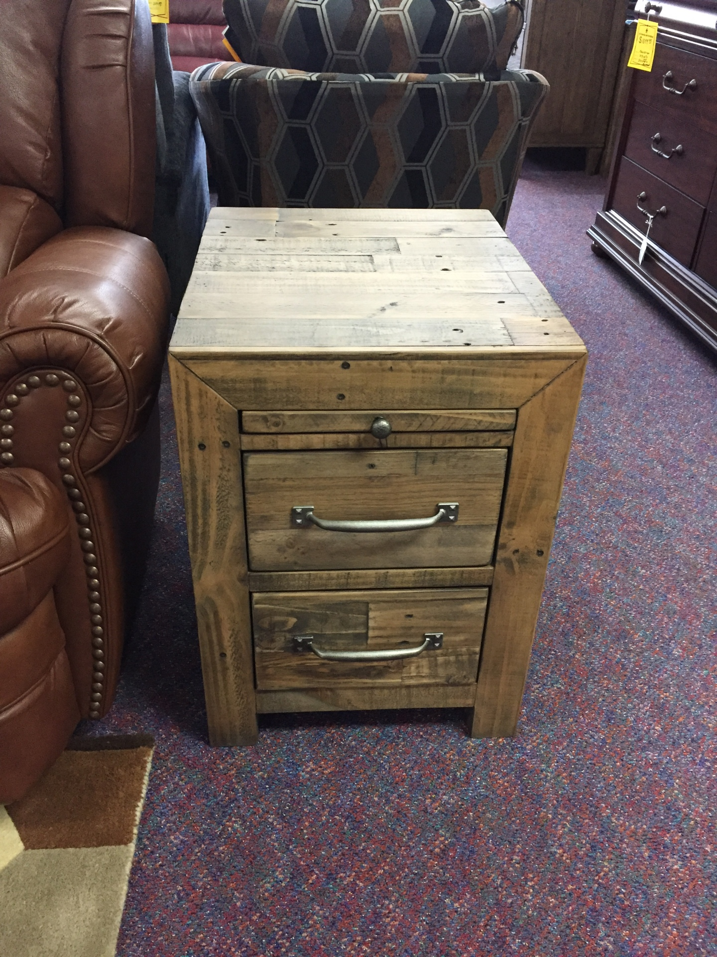 ASHLEY RUSTIC END TABLE- $299.95 (EACH)
