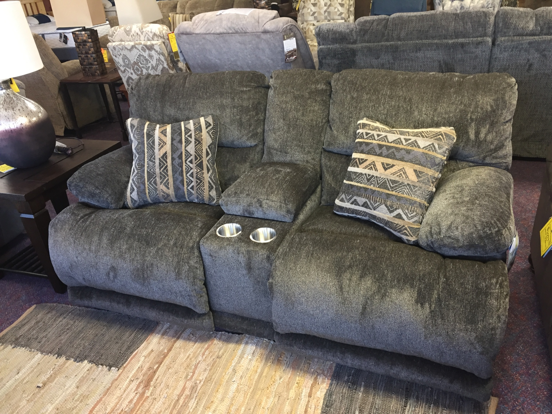 CATNAPPER JULES RECLINING LOVE SEAT- $949.95