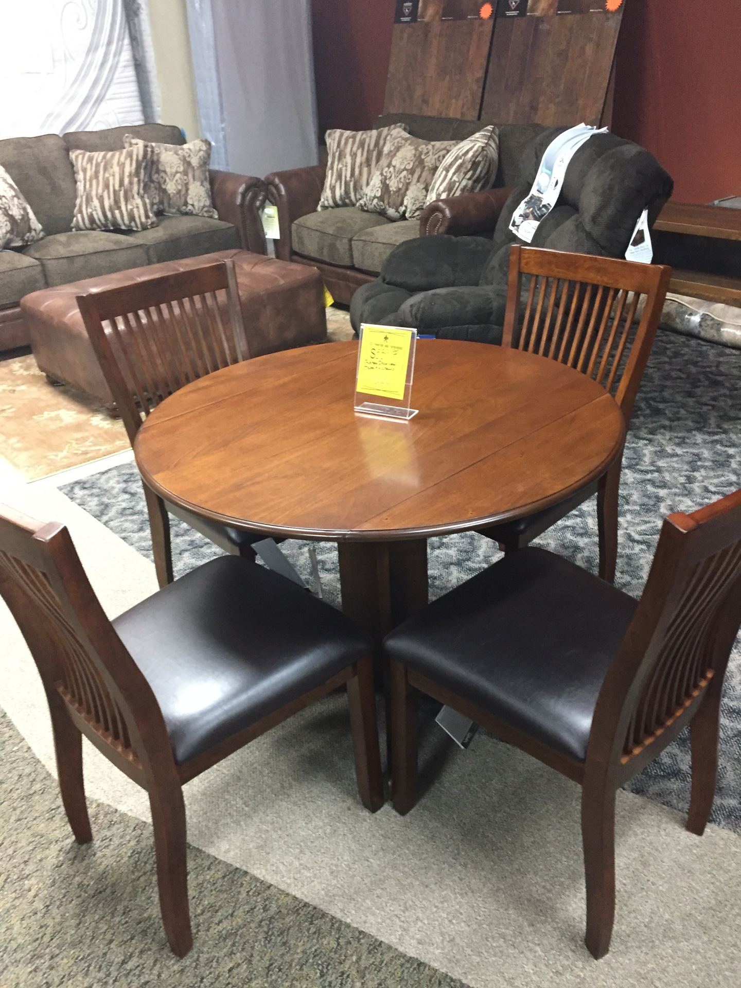 Ashley Round Dining Set- $599.95