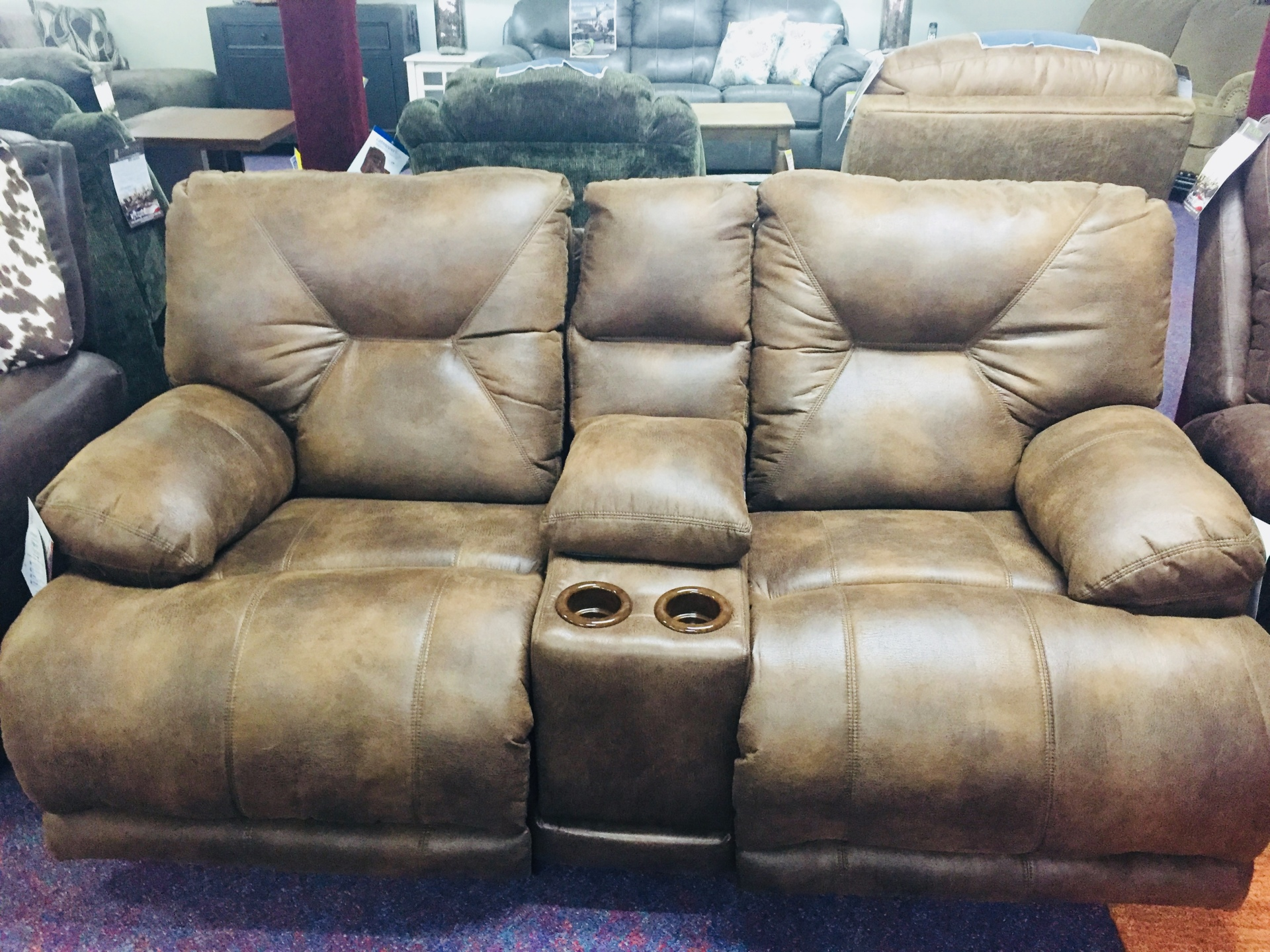 Voyager Reclining Love Seat- $1149.95