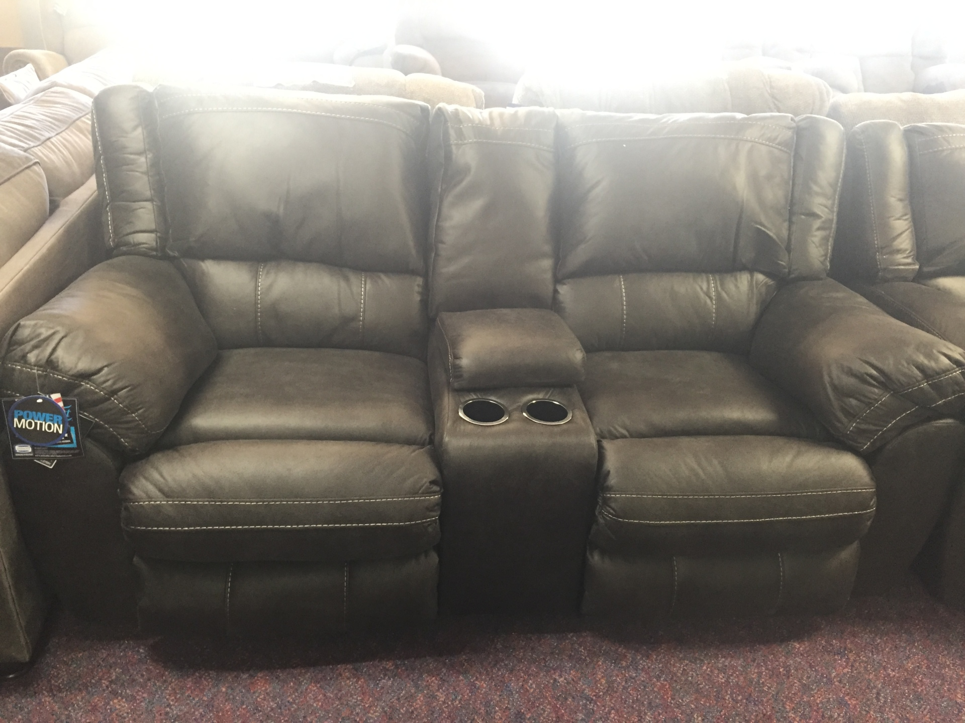 SIMMONS SHILOH POWER LOVE SEAT- $949.95