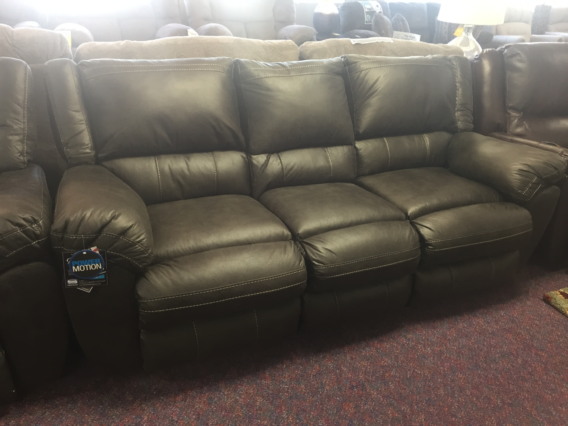 SIMMONS SHILOH POWER SOFA- $999.95