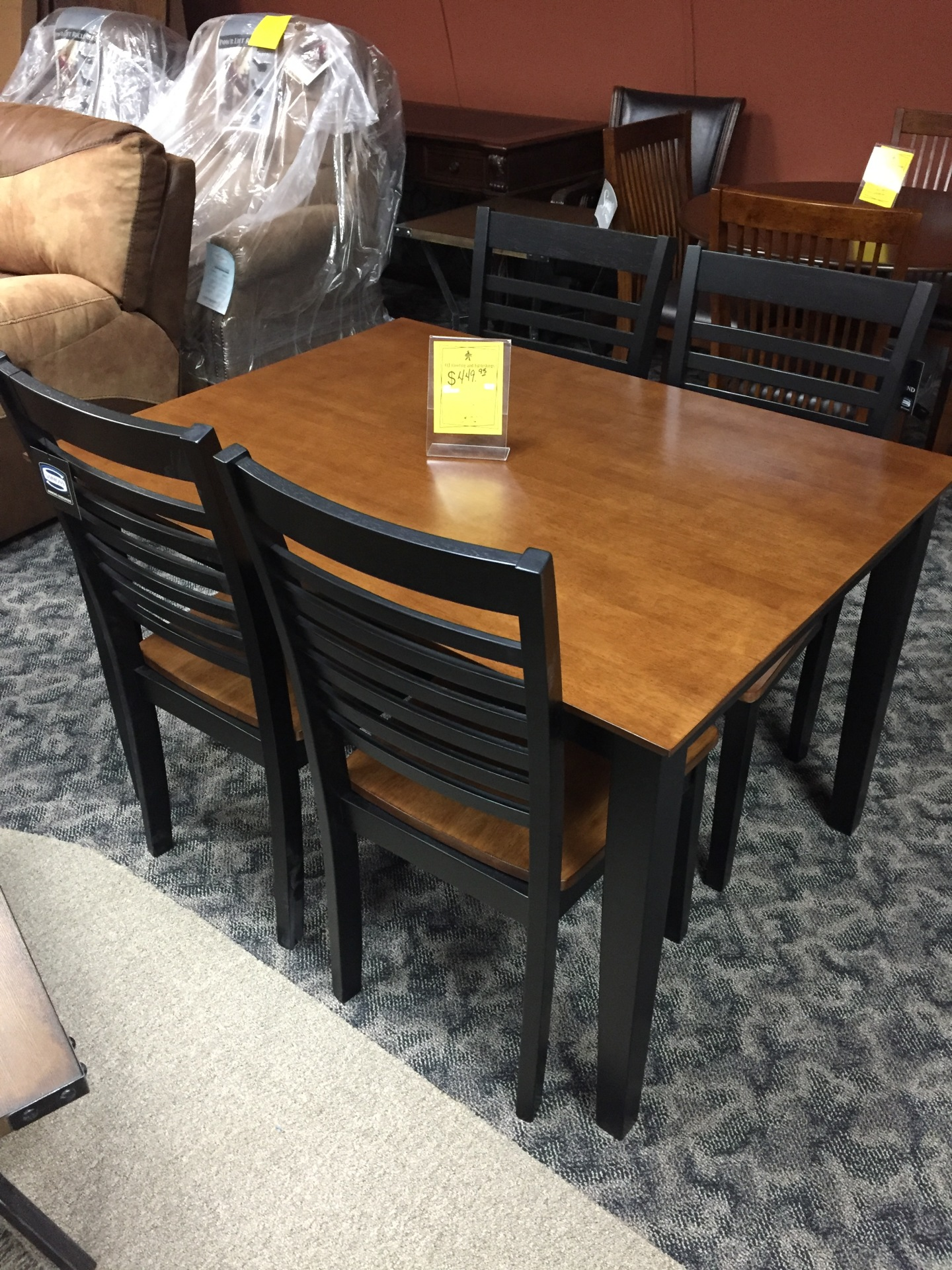 SIMMONS 5 PIECE DINING SET- $ 449.95