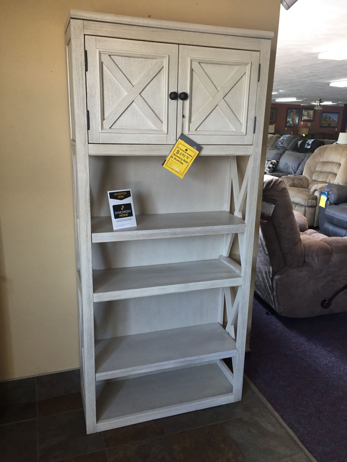 Ashley Shelf- $499.95