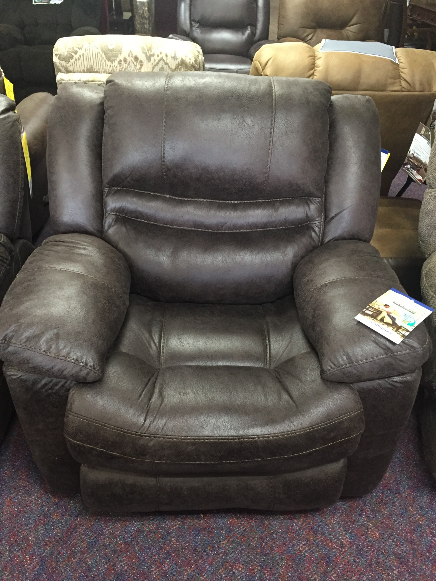 Catnapper Valiant Glider Recliner-