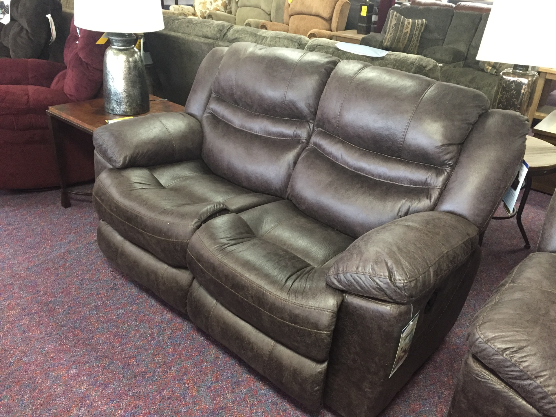 Catnapper Valiant Rocking/ Reclining Love seat-