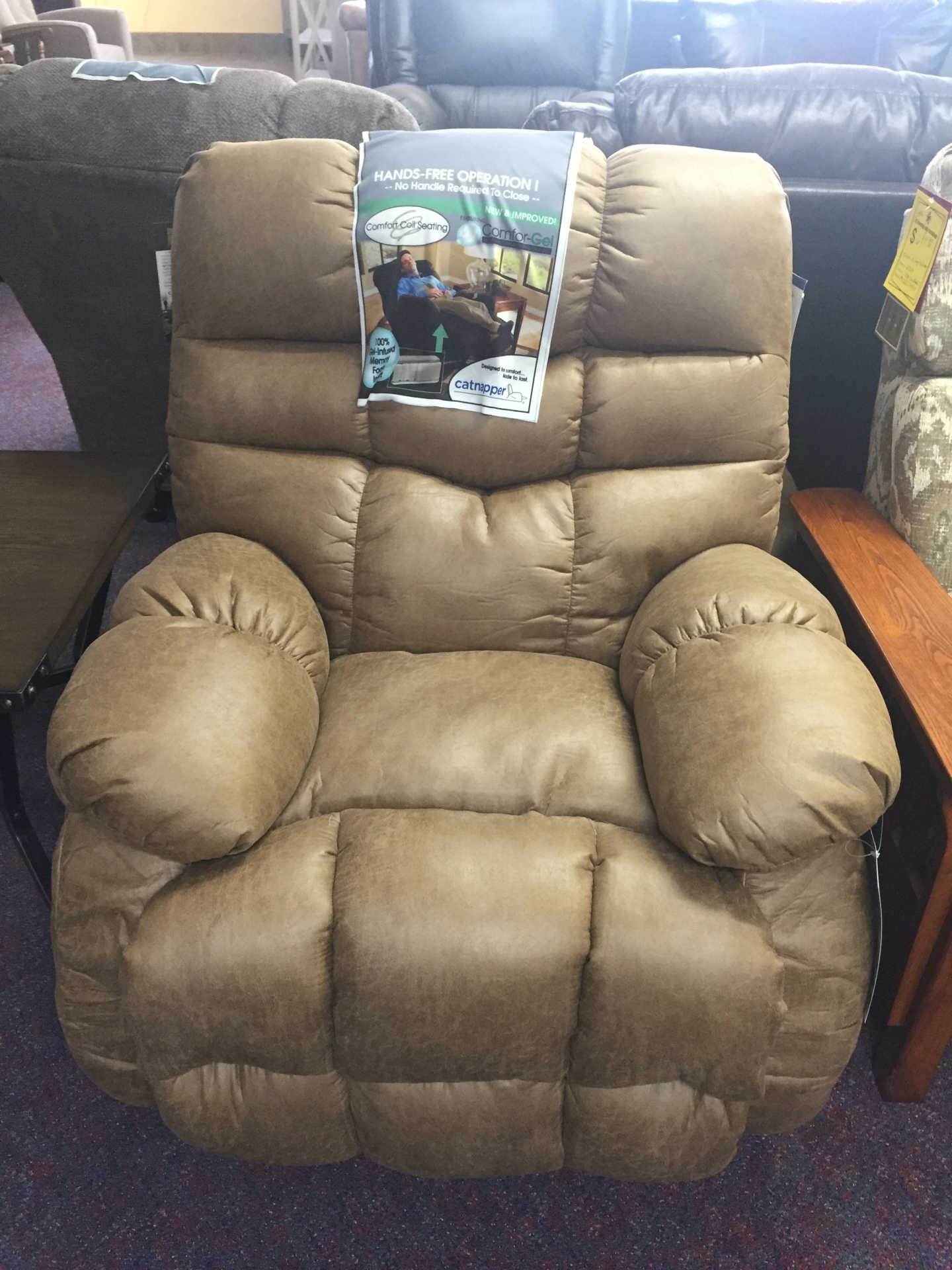 Catnapper Berman rocker/recliner- $599.95