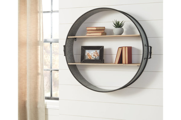 ASHLEY WALL SHELF- $179.95