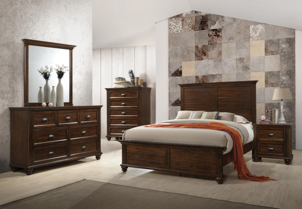 UNITED FURNITURE REMINGTON QUEEN BEDROOM SET- $1799.95