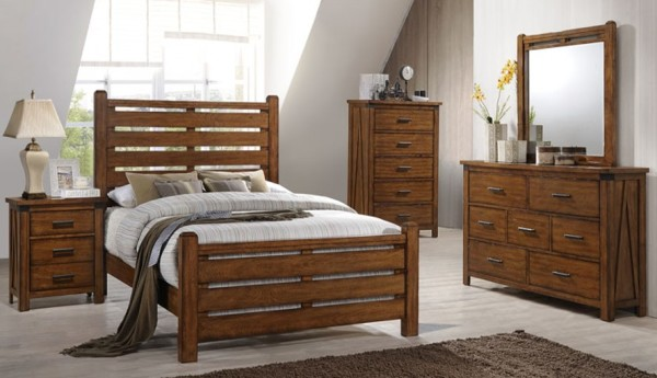 UNITED FURNITURE QUEEN LOGAN BEDROOM SET- $1299.95