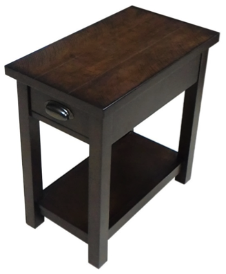 UNITED FURNITURE POWER CHAIR SIDE TABLE- $159.95