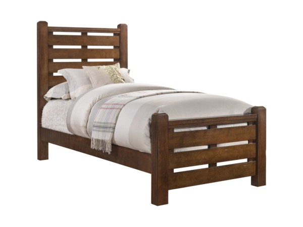 UNITED FURNITURE LOGAN TWIN BED- $349.95