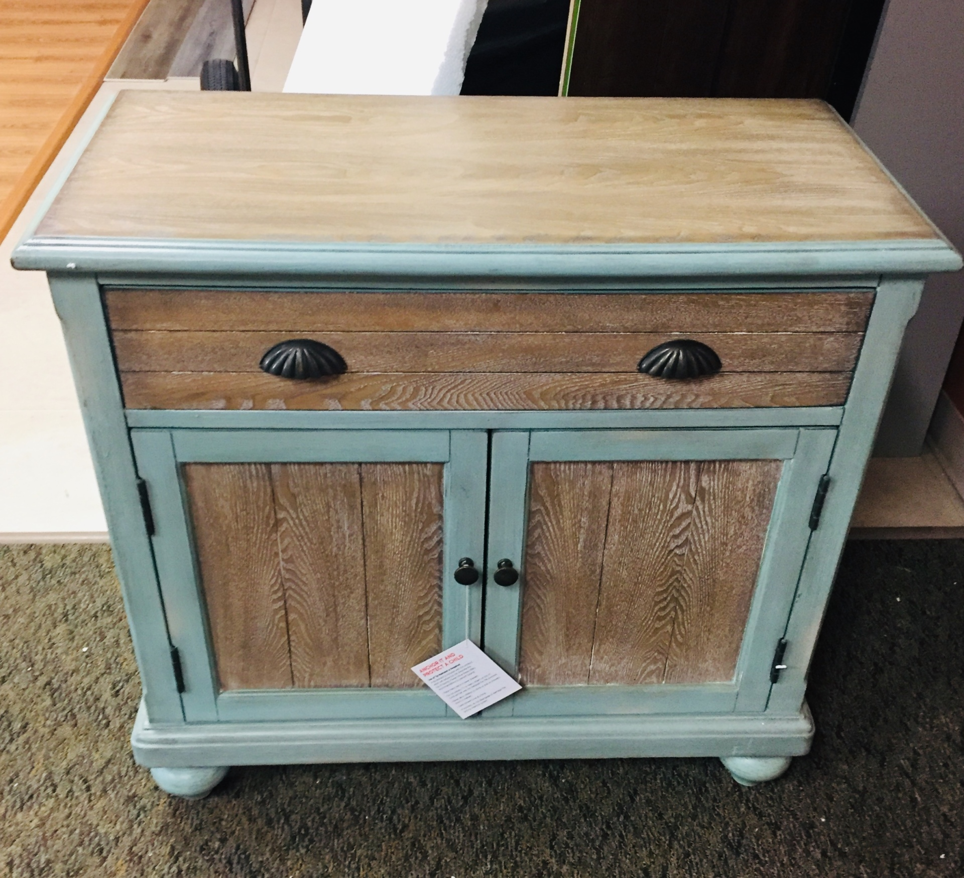 COAST TO COAST 1 DRAWER 2 DOOR CABINET