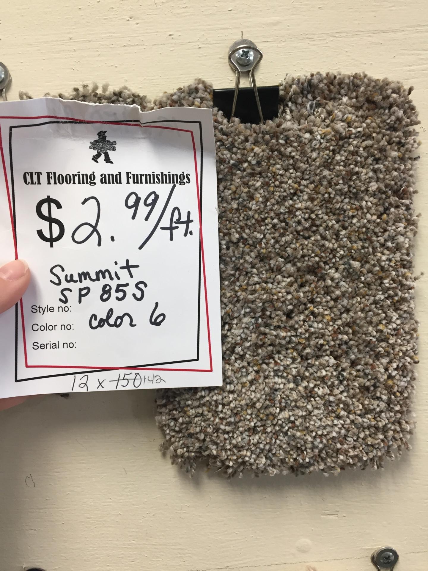 SUMMIT SP85S $2.99 SF