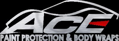 A C E Paint Protection & Body Wraps Logo