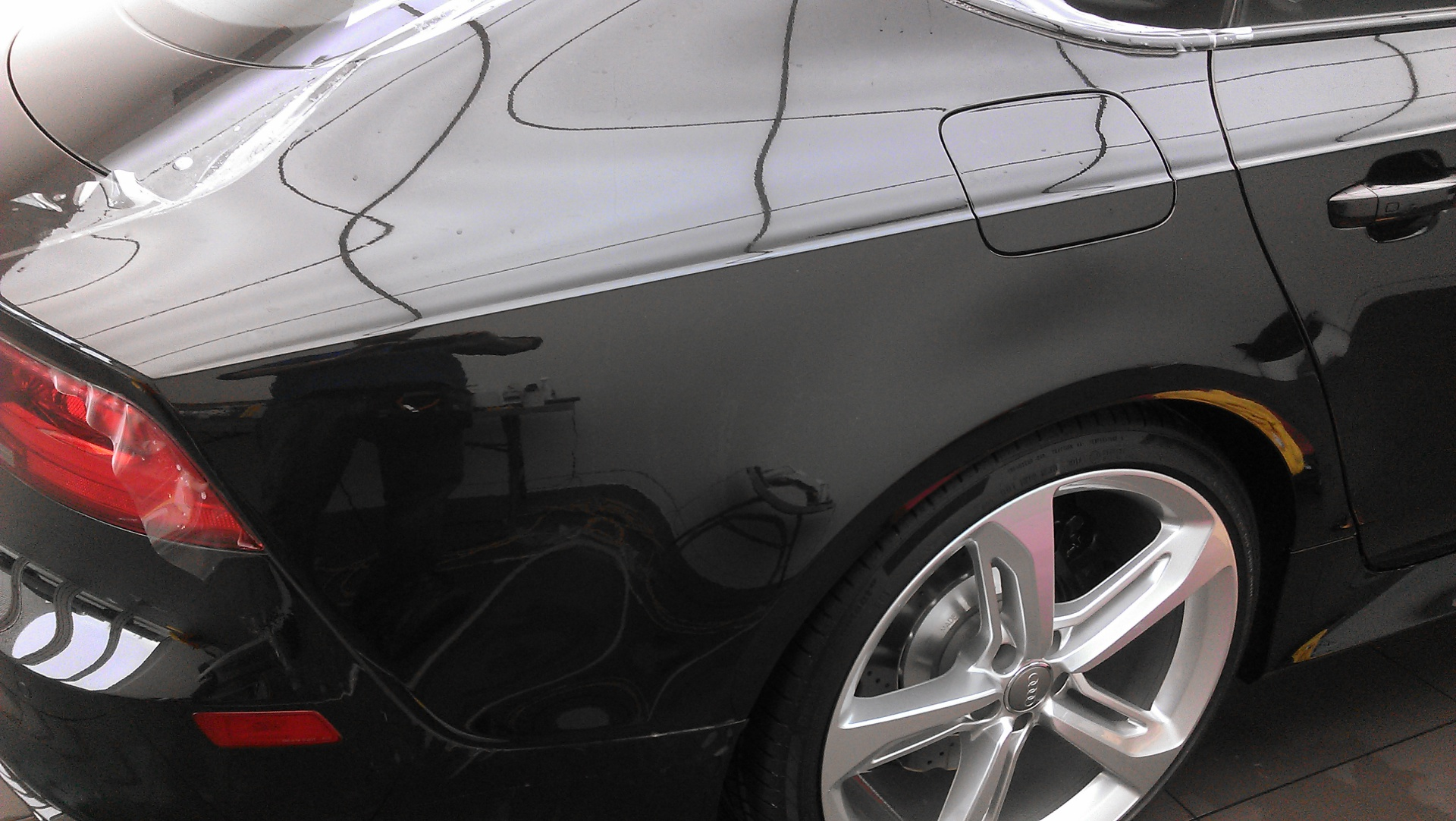 Audi Paint Protection Header