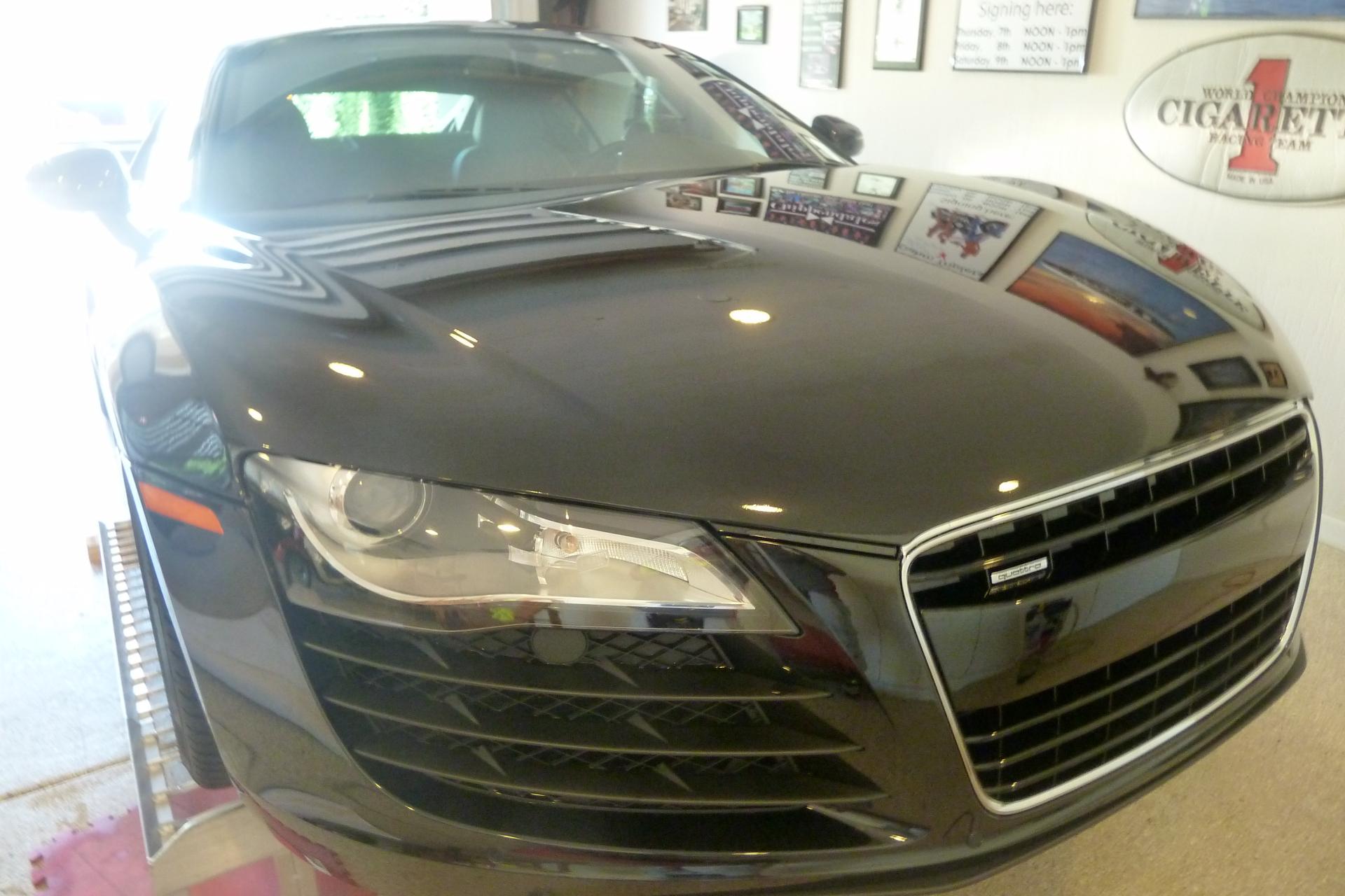 Audi R8 Clear Bra