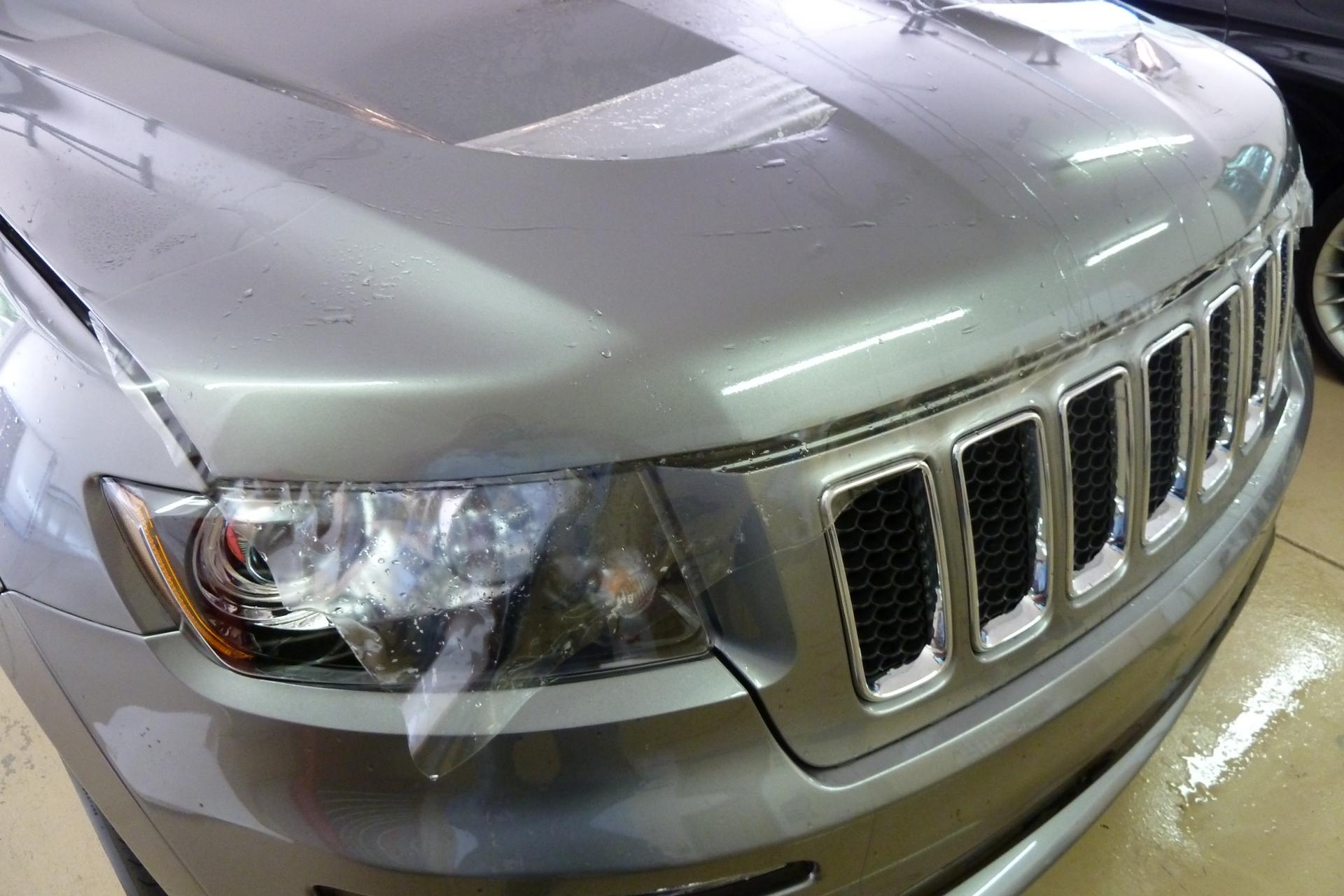 Jeep Clear Bra