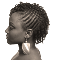natural short hairstyles with twist