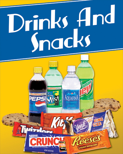 snack and drinks complimentary