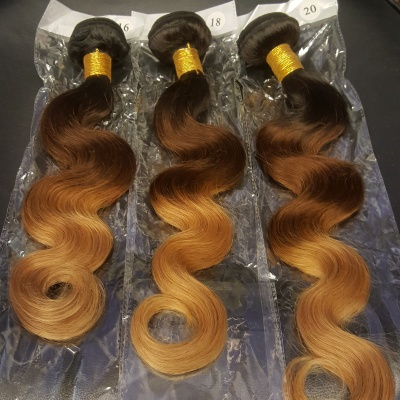 Body wave ombre hair