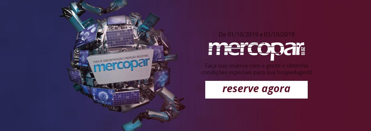Mercopar 2019 - Caxias do Sul - RS - Hotel em Caxias do Sul