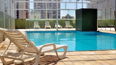 Piscina térmica Hotel das Américas Balneário Camboriú