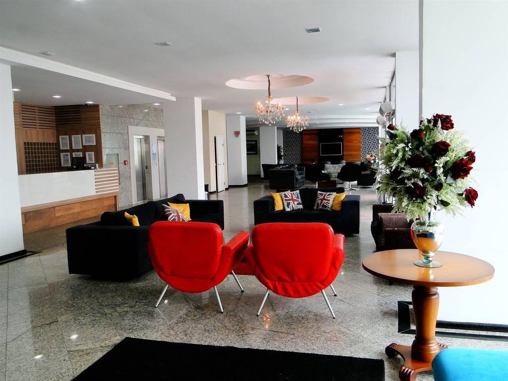 Hall de entrada - Hotel das Américas - Balneário Camboriú