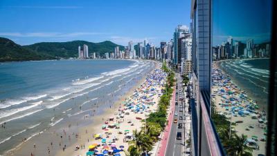 Praia Central Hotel das Américas Balneário Camboriú