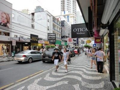Lojas centro - Hotel das Américas Balneário Camboriú