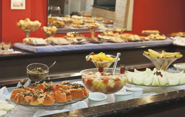 Café da manhã - Miramar Hotel - Balneário Camboriú - SC