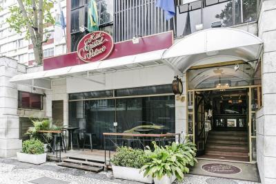 Fachada - Hotel Cristal Palace - Rio de Janeiro