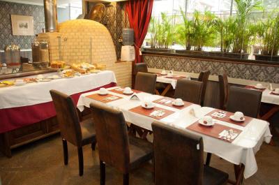 Restaurante - Hotel Cristal Palace - Rio de Janeiro