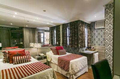 Quarto Duplo - Hotel Cristal Palace - Rio de Janeiro