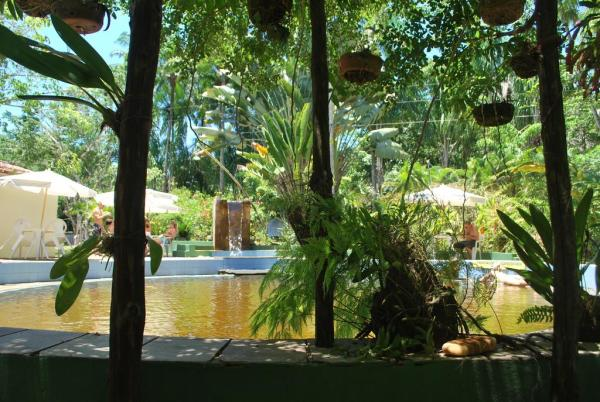 Piscina natural - Paraíso das Águas Hotel - Ituberá - Bahia