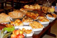 Café da manhã - Hotel Oscar Executive - Porto Velho - Rondônia