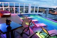 Terraço - Hotel Oscar Executive - Porto Velho - Rondônia