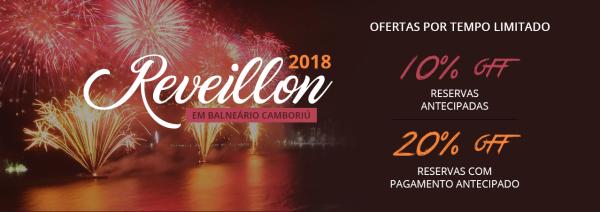 Reveillon desconto 10% e 20% - Miramar Hotel - Balneário Camboriú - SC